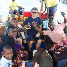 Zanzibar Learning 4 Life hosts training session on Safari Blue!