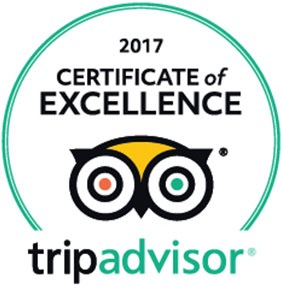 Wow!!! Safari Blue is awarded a TripAdvisor Certificate of Excellence for the seventh year running!!