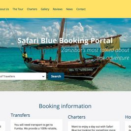 Safari Blue Online Booking Portal